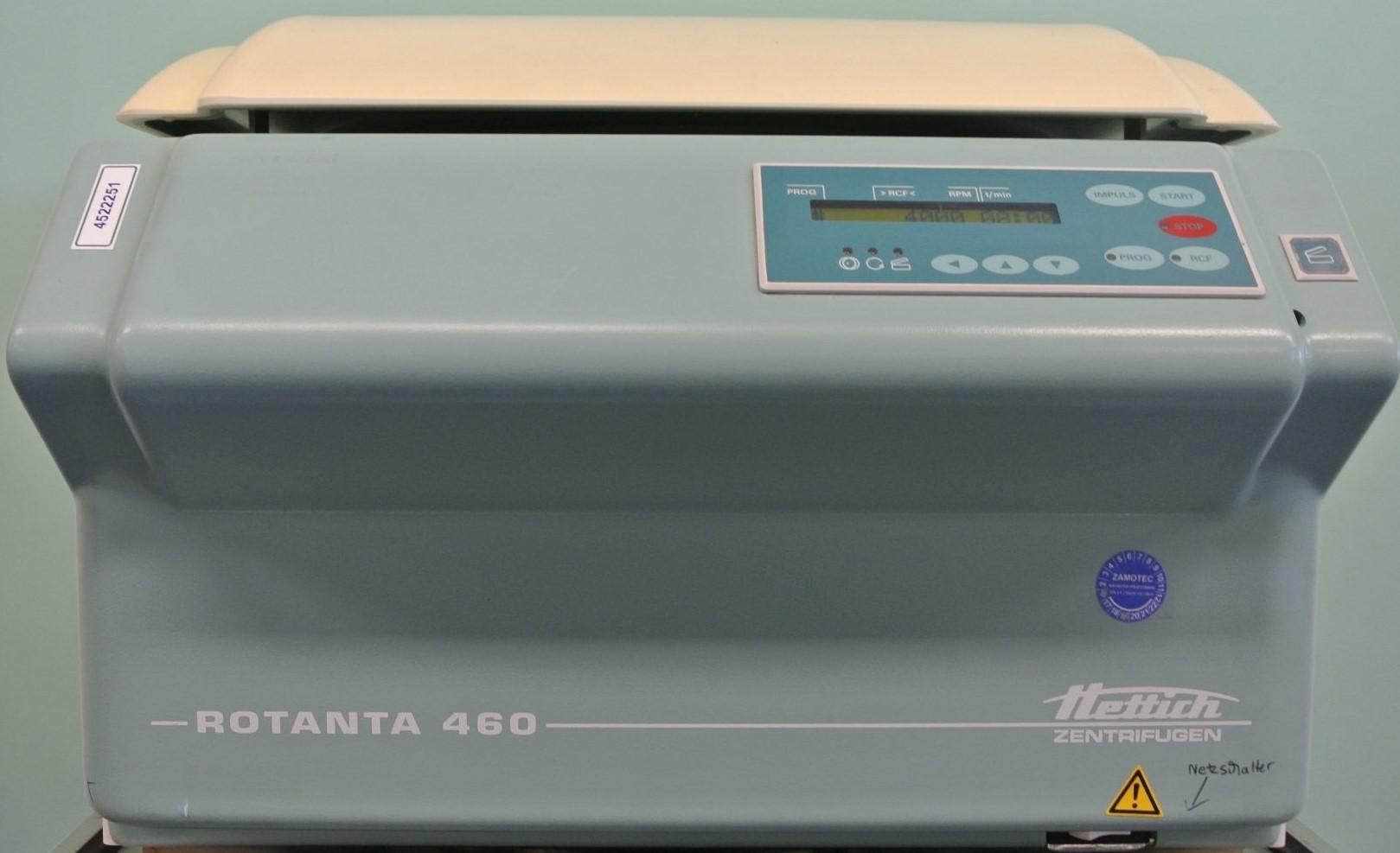 BDS 15862 Hettich Zentrofuge Rotanta 460 - Центрофуга